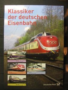 Gedenkblatt  Erinnerungsblatt der Deutsche Post: Klassiker der deutschen Eisenbahn, 2006