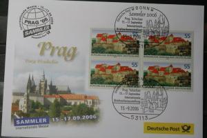 Messebrief, Ausstellungsbrief Deutsche Post: Sammler 06 Prag