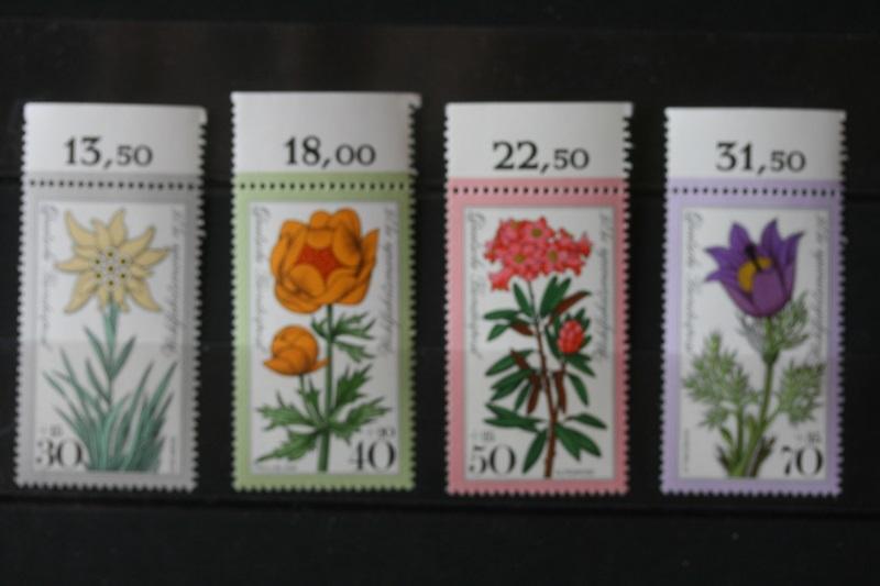 Blumen, Deutschland 1975