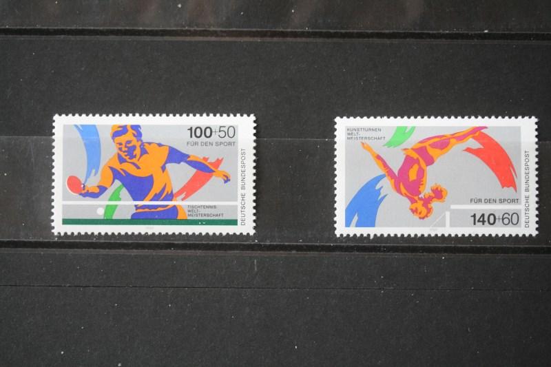 Sport, Für den Sport ,Deutschland 1989