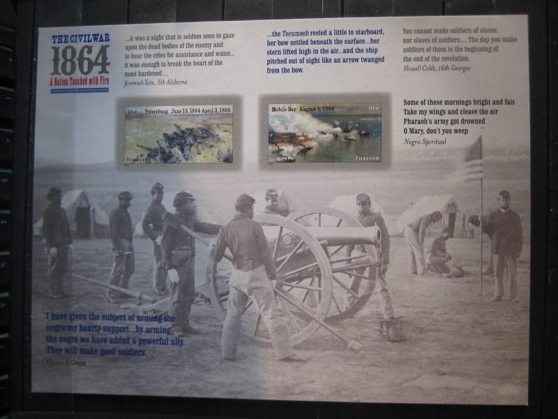 USA, Kleinbogen: The Civil War 1864; 2014 0