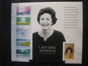 USA, Kleinbogen: Lady Bird Johnson, 2012