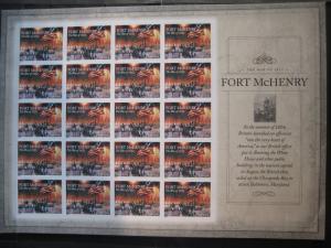 USA, Kleinbogen: Fort Mc Henry, 2014