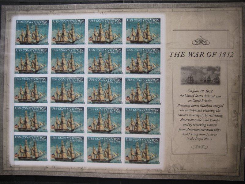 USA, Kleinbogen: The War of 1812, USS Constitution, 2012 0