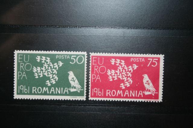 Rumänien CEPT EUROPA-UNION 1961, Propagandablockausgabe 1961, Vignette