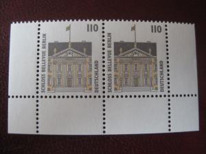 Deutschland Freimarken Sehenswürdigkeiten SWK; 110 Pf. im Paar