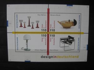 Deutschland Block : Design in Deutschland 1998