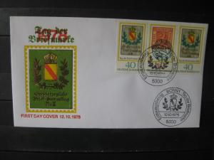 Tag der Briefmarke 1978; ZD Ersttagsbrief