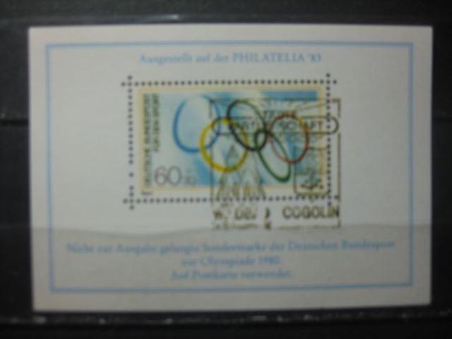 Gscheidle-Marke, Olympia-Marke; Vignettenblock