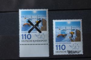 Polarforschung  Bundesrepublik 1981 Andreaskreuz