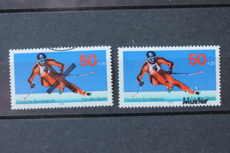 Sporthilfe Bundesrepublik 1978 Andreaskreuz