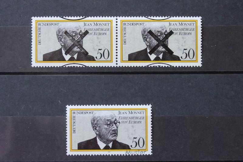 Jean Monnet Bundesrepublik 1977 Andreaskreuz