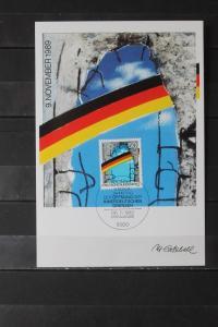 Maximumkarte Bundesrepublik Deutschland : Maueröffnung 1989