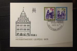 Leipziger Messe Karte 1971
