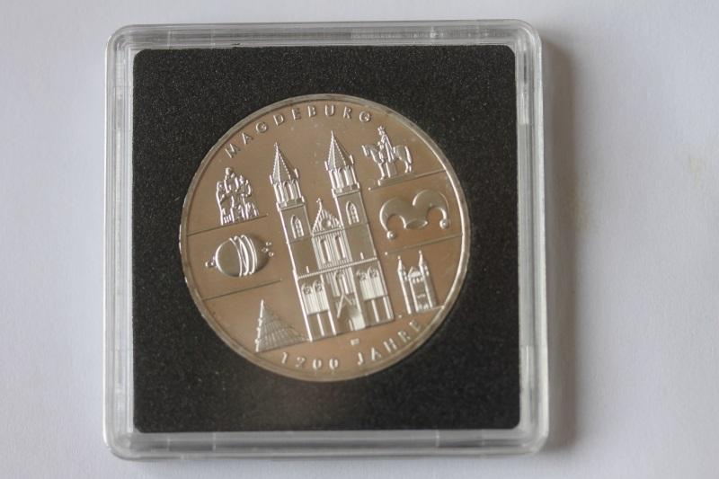 10 EURO Silbermünze 1200 Jahre Magdeburg; Polierte Platte, Spiegelglanz