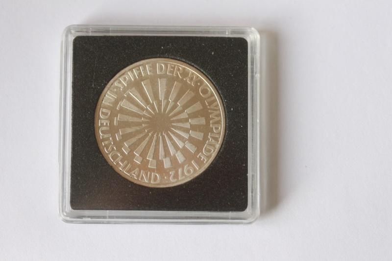 10 DM Silbermünze Olympiade 1972 in Deutschland; 1970 D, stg