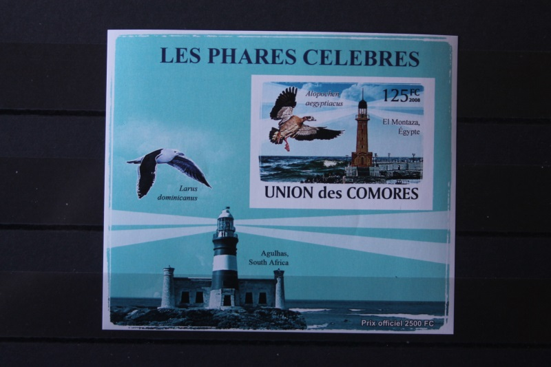 Vögel, Leuchtturm; Komoren 2008 0