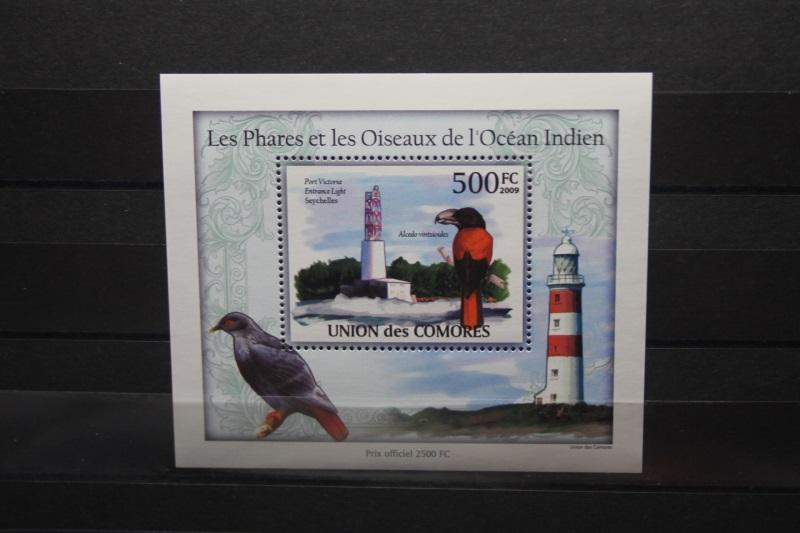 Komoren, Vögel, Leuchttürme, 2009