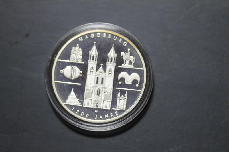 10 Euro Silbermünze 1200 Jahre Magdeburg, Polierte Platte, PP