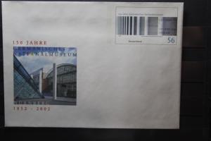 Umschlag mit Sonderwertstempel; USo 40; Germanisches Nationalmuseum, 2002