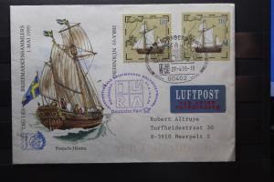 Umschlag mit Sonderwertstempel; USo 8; IBRA 99 Nürnberg