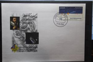 Umschlag mit Sonderwertstempel; USo 192; Intern. Briefmarken-Börse Sindelfingen 2009