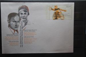 Umschlag mit Sonderwertstempel; USo 177; Für den Sport 2004; Paralympics