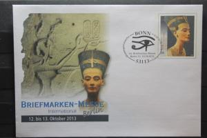 Umschlag mit Sonderwertstempel; USo 306; Intern. Briefmarken-Messe Berlin 2013