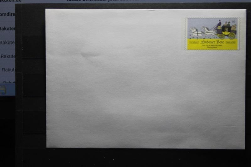 Umschlag mit Sonderwertstempel; USo 342; Lindauer Bote; 2014