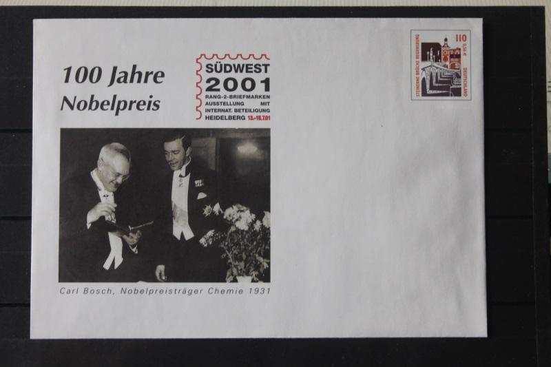 Umschlag mit Dauerwertstempel; Plusbrief; Südwest 2001 Heidelberg; Sehenswürdigkeiten; 2001