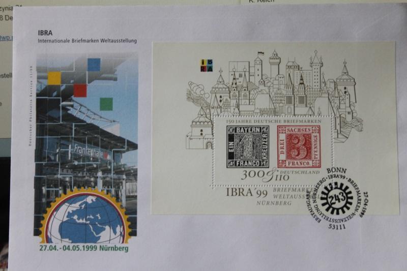 Ersttagsbrief Künstler- Ersttagsbrief FDC der Deutsche Postphilatelie: IBRA 99 Nürnberg