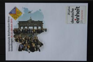 Umschlag mit Sonderwertstempel; USo 376; Intern. Briefmarken-Börse Sindelfingen 2015