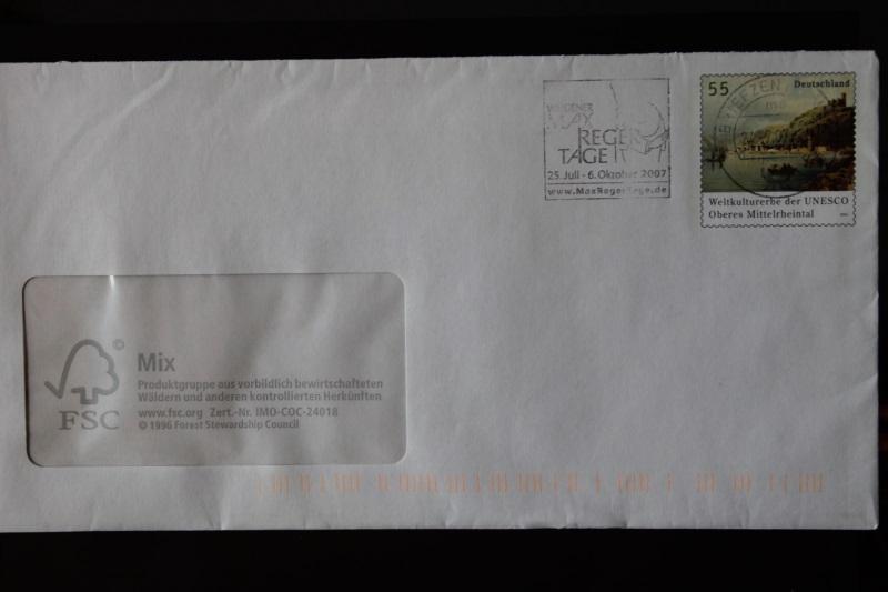 Umschlag mit Sonderwertstempel; USo 126B 0