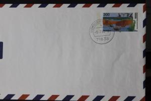 Umschlag mit Sonderwertstempel; USo 3