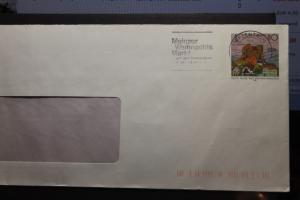 Umschlag mit Sonderwertstempel; USo 2y