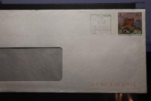 Umschlag mit Sonderwertstempel; USo 6y
