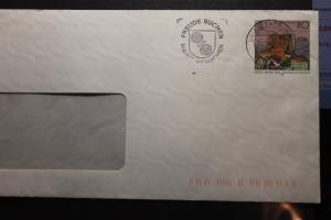 Umschlag mit Sonderwertstempel; USo 6x