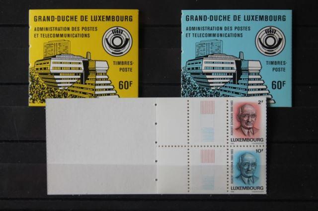 Luxemburg, MH1; Robert Schman; lesen