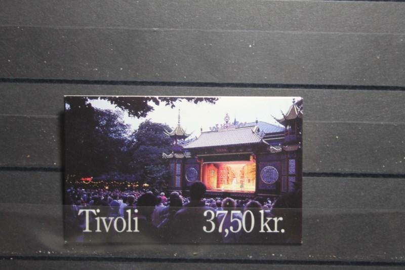 Dänemark; NORDEN 1993; Touristische Attraktionen, Markenheft