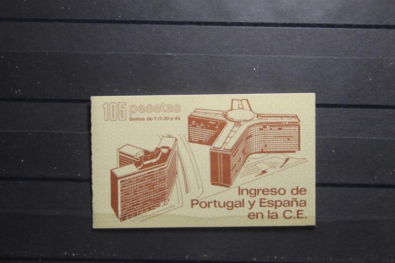 Spanien, Beitritt Portugals und Spaniens zur EG 1986, Markenheft
