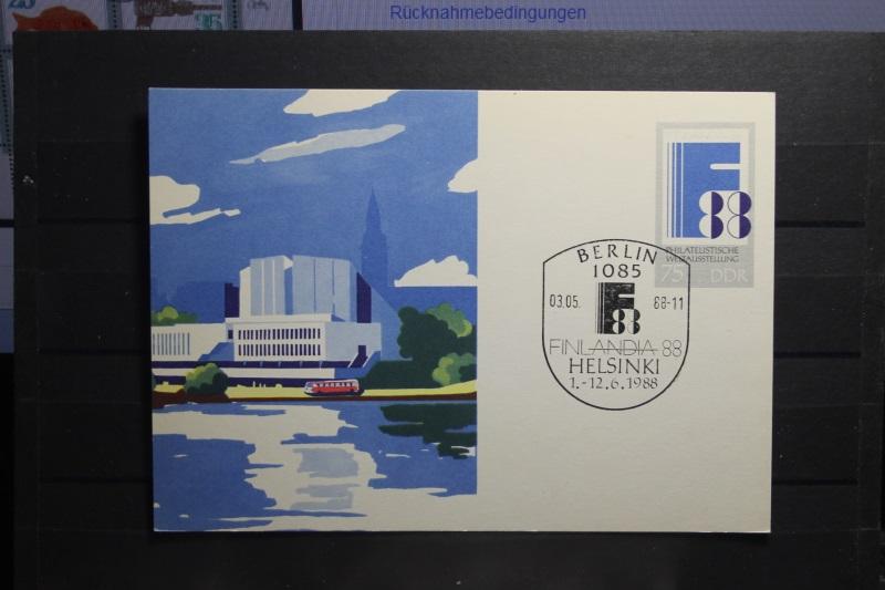 Philatelistische Weltausstellung  Finlandia 1988