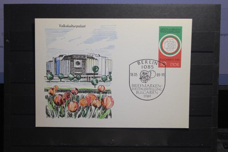 Philatelistische Weltausstellung  Bulgaria 89