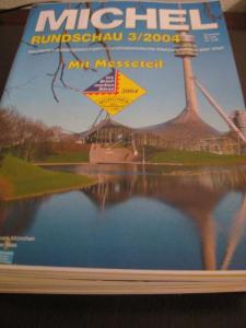 MICHEL-Rundschau Jahrgang 2004 0hne Hefte 1 und 2/2004 und 5/2004