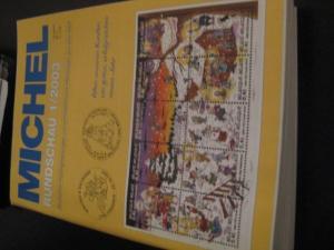 MICHEL-Rundschau Jahrgang 2003 ohne die Hefte 5 und 10/2003