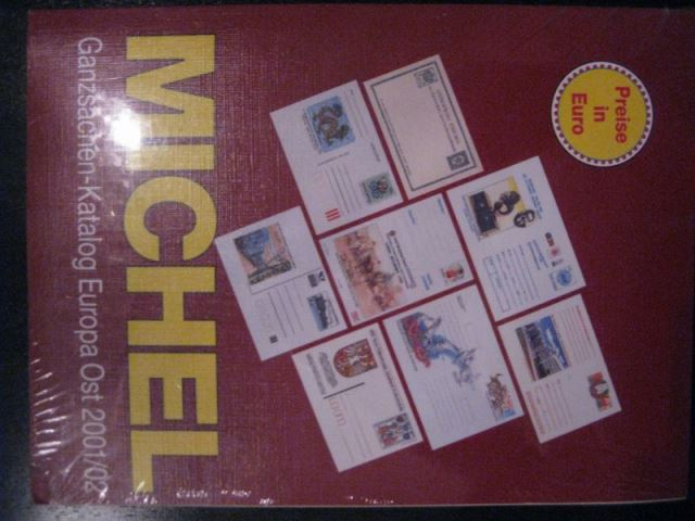MICHEL Ganzsachenkatalog Europa Ost 2001/02 Originalverpackt (eingeschweißt)