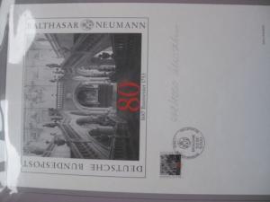 Künstleredition ;Balthasar Neumann 1987; Handsigniert und numeriert 448/1000