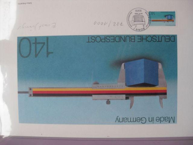 Künstleredition ;Made in Germany 1988 ; Handsigniert und numeriert 782/1000