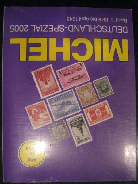 MICHEL Deutschland Spezial Band 1 (1849 bis April 1945) Ausgabe 2005 Originalverpackt (eingeschweiß)