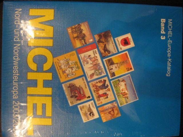 MICHEL Nord- u. Nordwesteuropa 2003/04 Band 3. Originalverpackt (eingeschweißt)