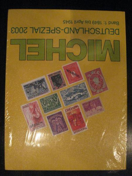 MICHEL Deutschland Spezial Band 1 (1849 bis April 1945) Ausgabe 2003 Originalverpackt (eingeschweißt